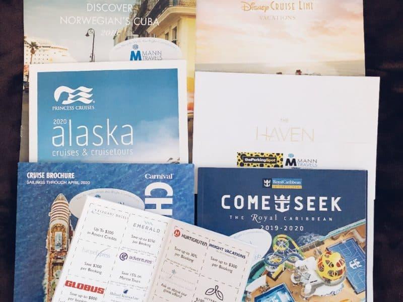 Sample of brochures