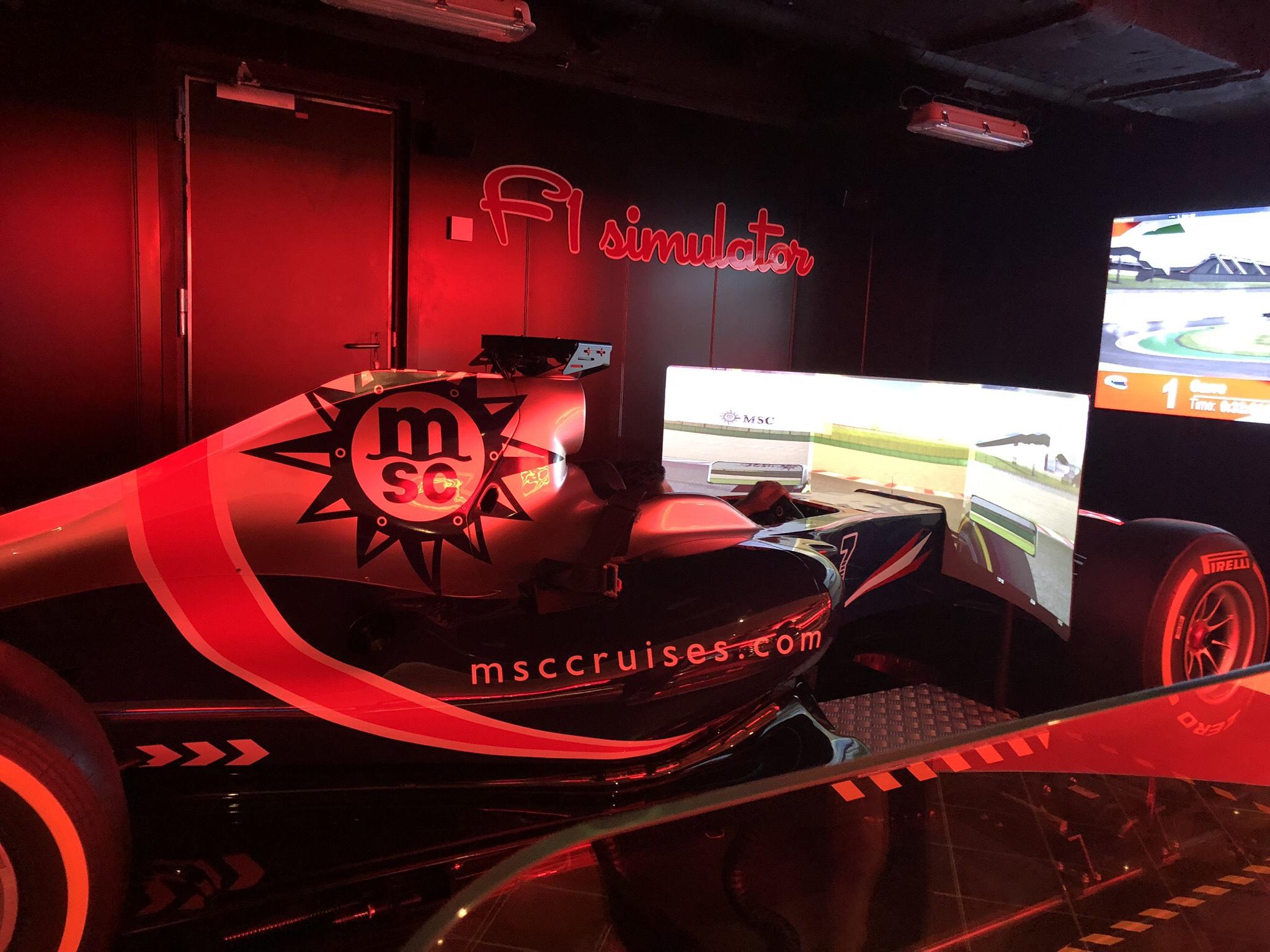 Formula 1 Racing Simulator