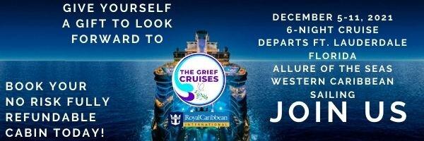Grief Cruise banner