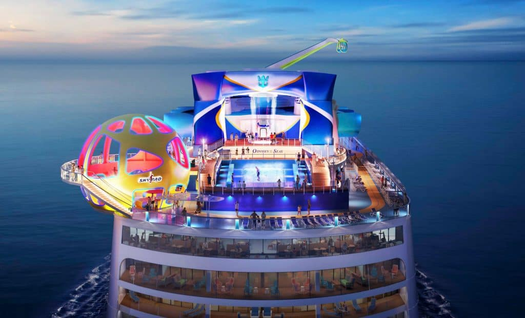 photo of Royal Caribbean's Odyssey of the Seas cruise ship of 2021