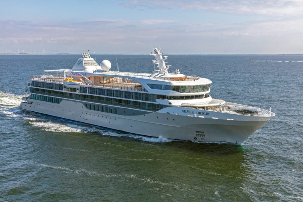 photo of Silversea Silver Origin cruise ship of 2021