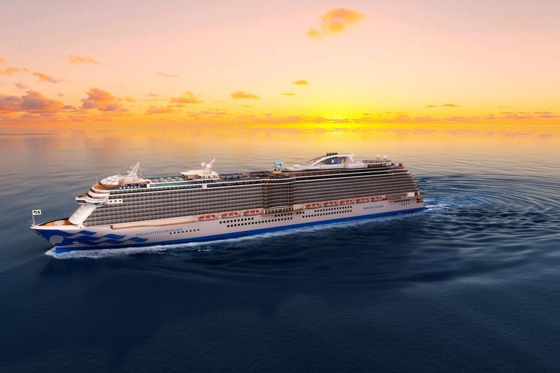 photo of Enchanted Princess cruise ship of 2021
