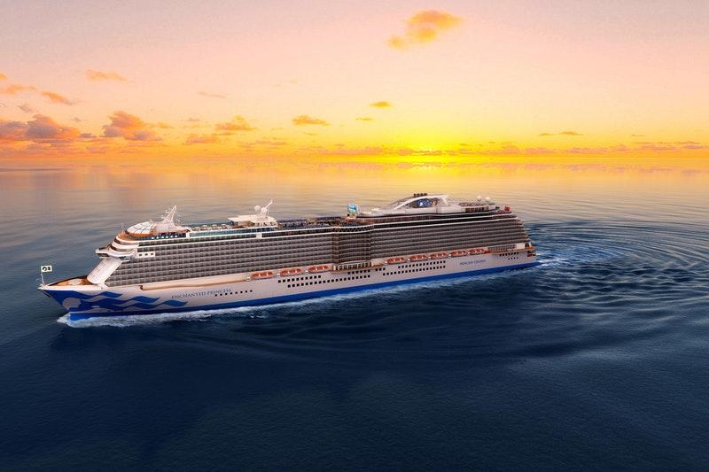 photo of Enchanted Princess cruise ship of 2021