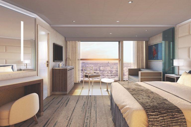 photo of Silversea's horizon balcony