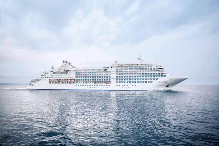 photo of Silversea Silver Moon cruise ship of 2021